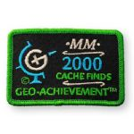 2000 Finds Geo-Achievement Patch
